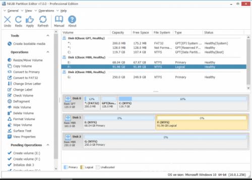 NIUBI Partition Editor Technician Edition v7.3.6 (Incl ...